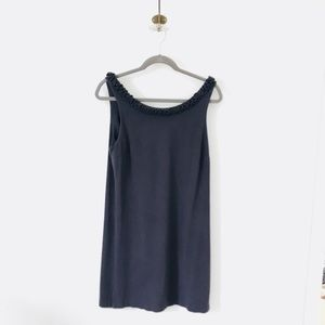 J Crew Knit Detail Neckline Dress